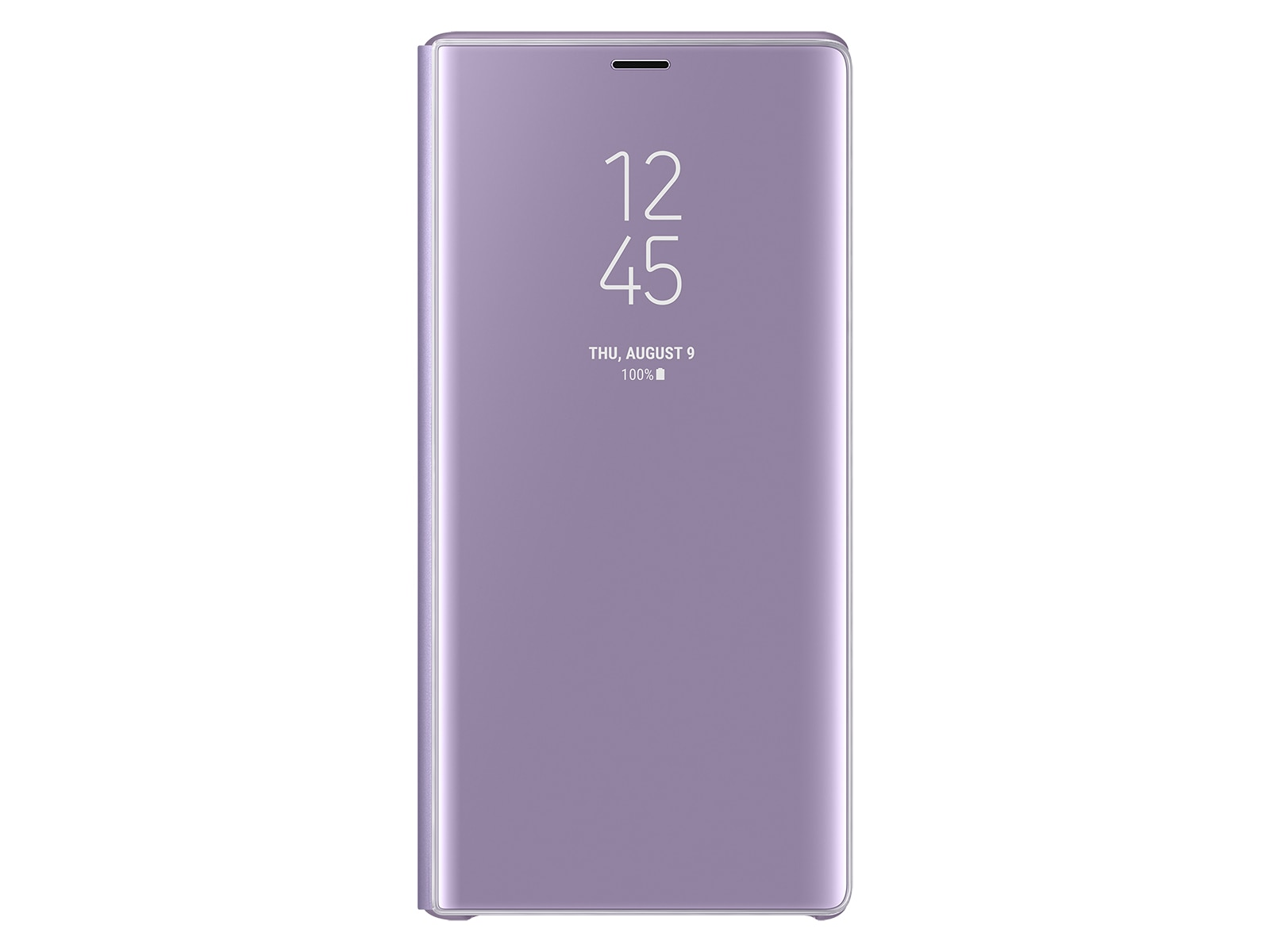 new style 3d29c 7880f Galaxy Note9 S-View Flip Cover, Lavender Purple