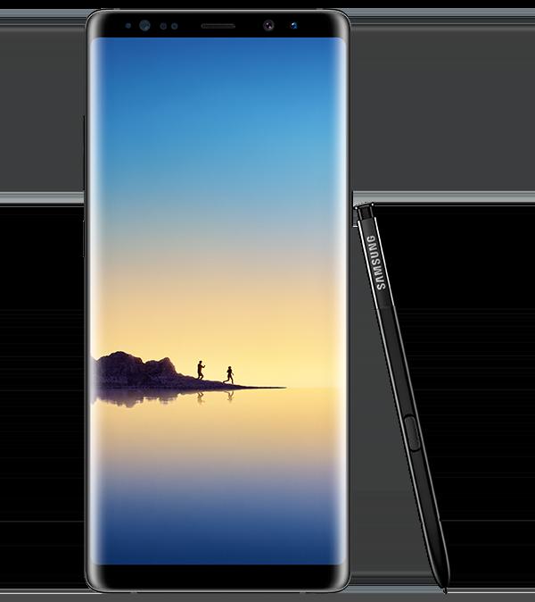 Galaxy S8 in schwarz