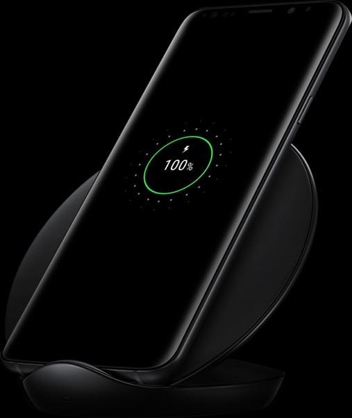 Wireless Charging Stand of Galaxy S9+