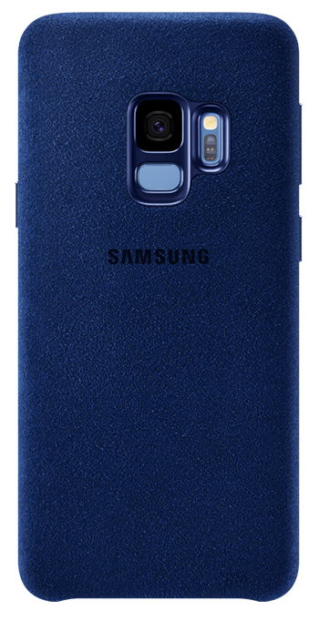 Blue: Alcantara Cover in black