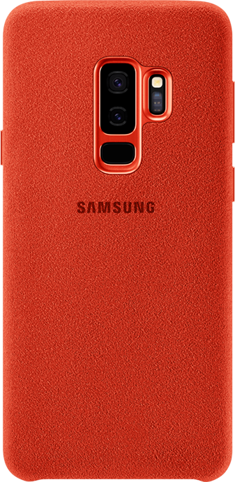 Red: Alcantara Cover in black
