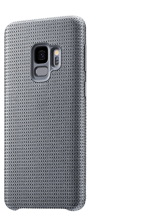 Gray: Hyperknit Cover in gray for Samsung Galaxy S9