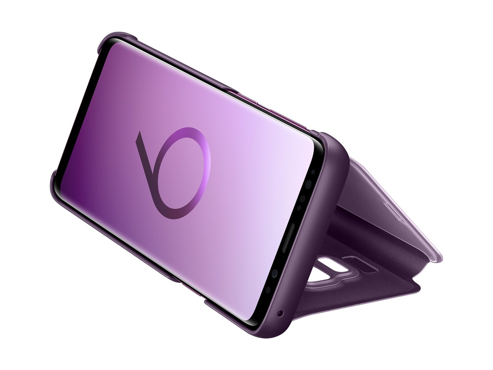 Thumbnail image of Galaxy S9 S-View Cover, Violet