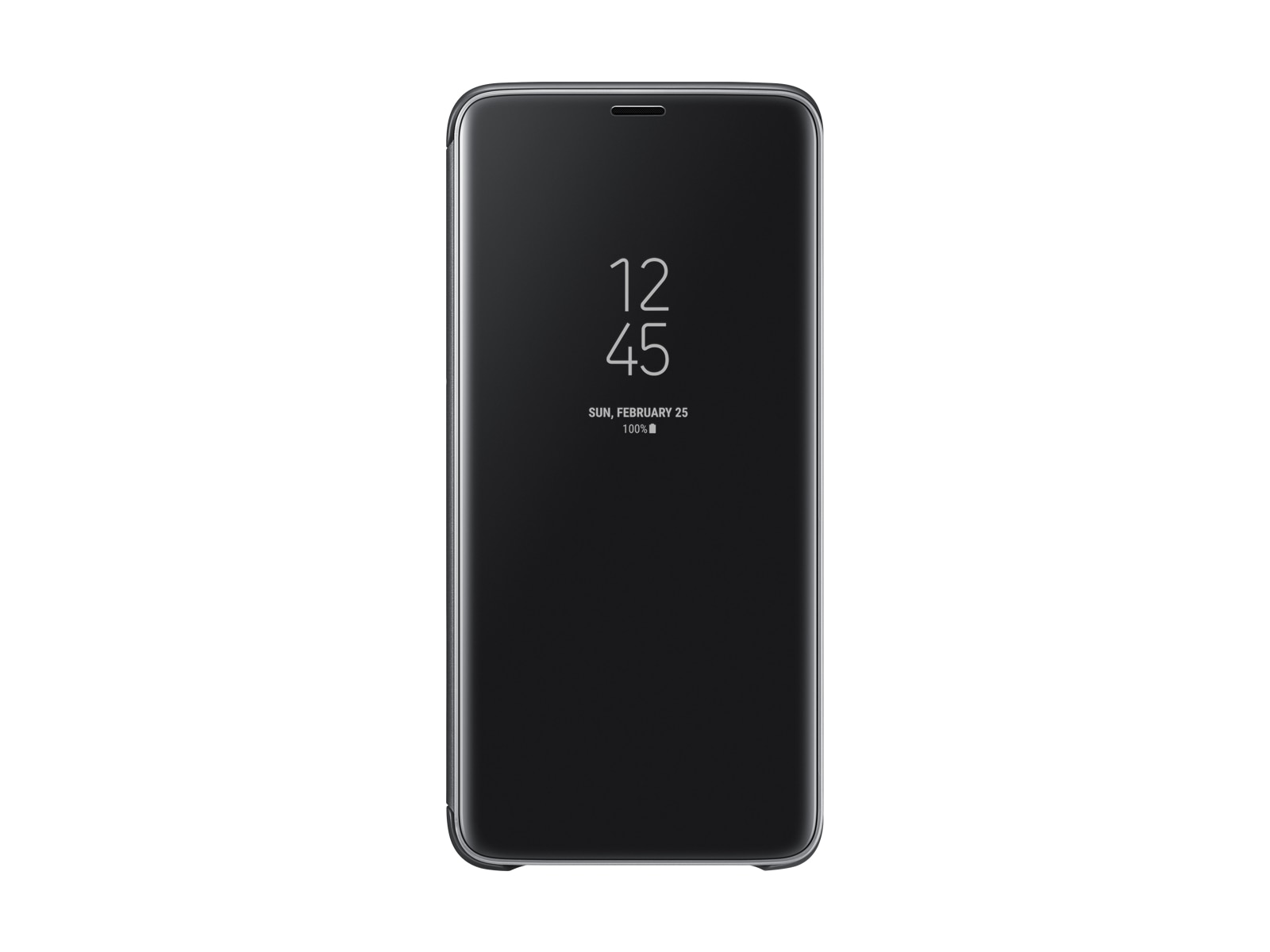 Thumbnail image of Galaxy S9+ S-View Cover, Black